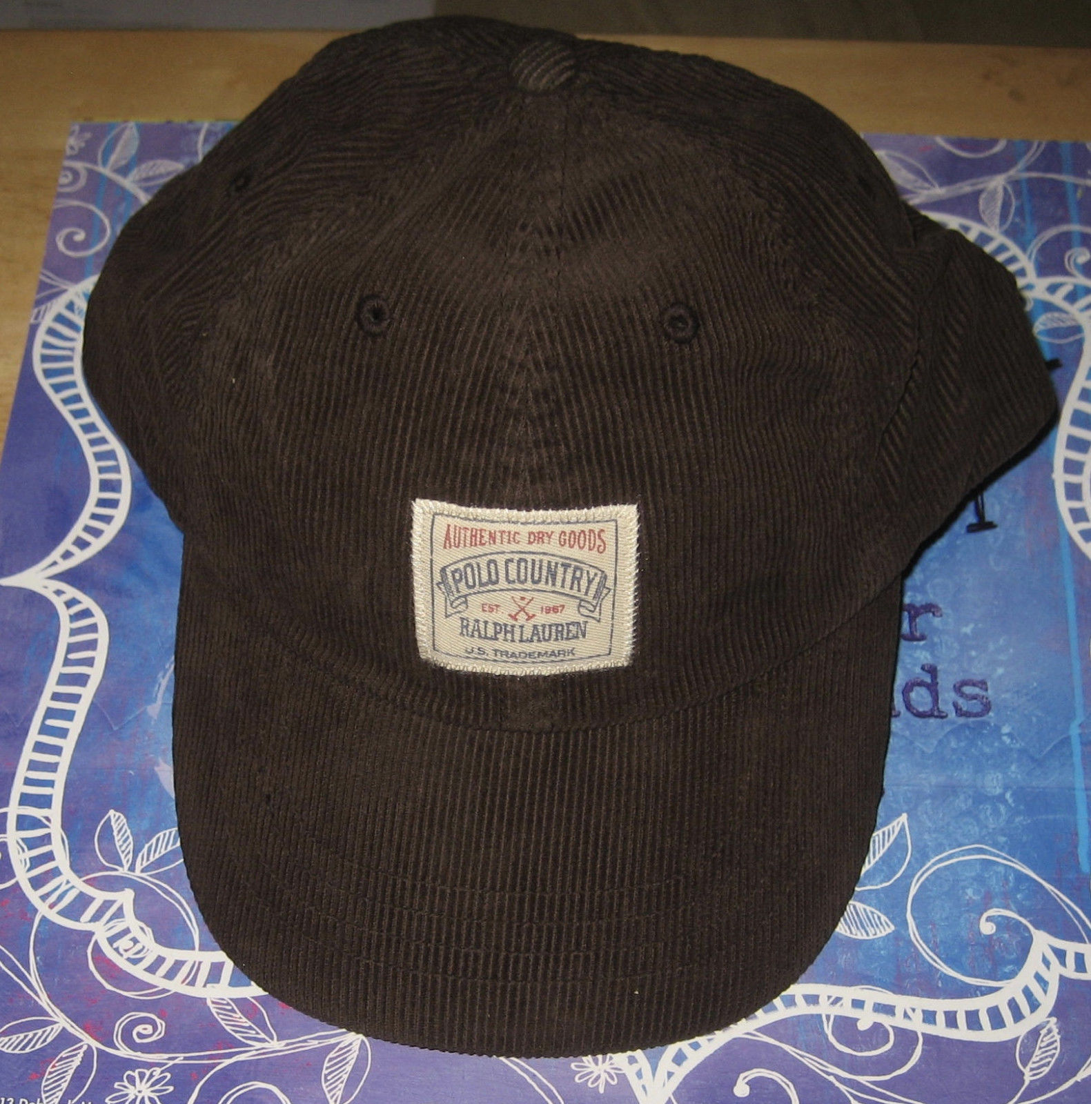 4f272152 Polo Ralph Lauren Corduroy Sport Cap - and 30 similar items. S l1600