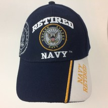 Retired United States Navy Ball Cap Hat One Size - $20.78