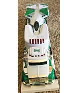 NEW HESS 2010 TOY TRUCK AND JET - Lights, Sounds, LED Runway & Launch Ramp - $25.99