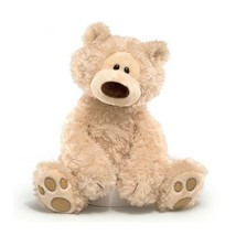 "GUND Philbin Teddy Bear Stuffed Animal Plush, Beige, 18"" 6047532 - $29.69"