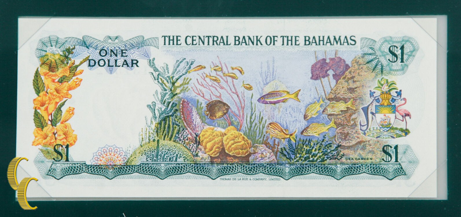 1974 The Central Bank of Bahamas UNC Condition Banknotes of all Nations