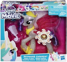 My Little Pony Princess Celestia Glitter and Glow Color changing 9 inch figure - $15.95