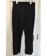ADIDAS  Workout Yoga Gym Running WOMEN Capri Pants Black sz M - $13.10