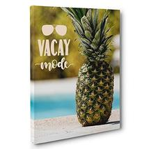 Vacay Mode Motivational Quote Canvas Wall Art - $34.65