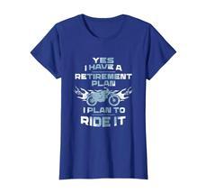 Brother Shirts - Motorcycle Retirement Plan To Ride It T-Shirt Rider Biker Wowen image 3