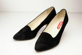 Bandolino US 6.5 Black Suede Pumps - Italy - $29.00