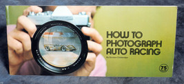 Vivitar How to Photograph Auto Racing Booklet - $4.00
