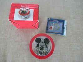 1987 Walt Disney Schmid Music Box Mickey Mouse Club March 277-401 - $21.48