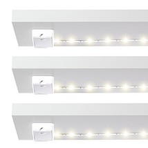 Luminoodle Click Battery Powered Tap Light Strip for Closet, Pantry 3-Pa... - $40.15