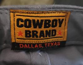 Cowboy Brand Cross Ball Cap Cotton Adult Black image 2