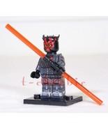 NEW DARTH MAUL Star Wars Minifigure +Stand The Phantom Menace Clone Wars... - $8.00