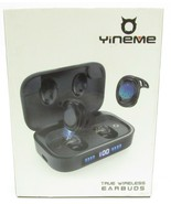 YINEME True Wireless Earbuds Bluetooth 5.0 Earbuds W/ 2000 mAh Charging ... - $19.99