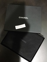 Authentic Chanel Classic 5 Crystal CC Logo Long Beaded Faux Pearl Necklace MINT image 4
