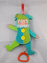 Fisher Price Jumping Jack Toy Vintage 1969 - $7.35