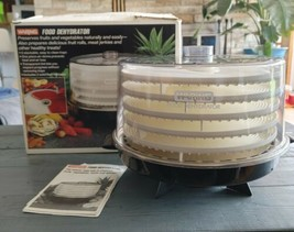 Waring Food Dehydrator Model #DF415 11DF21 5 Trays NEW - $64.60