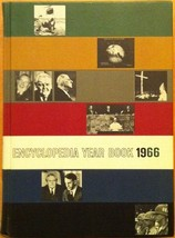 Encyclopedia Year Book: 1966 (used hardcover) - $15.00