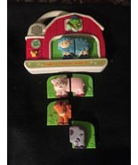 Leap Frog Fridge Phonics Farm Magnetic W. 3 Animal Sets & 1 Piece, Batte... - $17.72