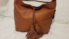 Rebecca Minkoff  Isobel Almond Leather Hobo Bag $295 NEW  - $150.00