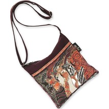 Laurel Burch Crossbody Bag, 10 by 10-Inch, Moroccan Mares - $40.79
