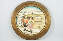 Anri Limited Edition 1976 Christmas Plate! Made In Italy Schmid Hand Crafted! - $67.24