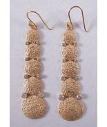 Melinda Maria Falling Pod Earrings Gold/White - $97.12