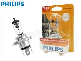 H4 9003 HB2 PHILIPS Standard Halogen Bulb 9003B1 OEM Quality 60/55W   Pack of 1 - $12.67