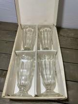 Vintage Anchor Hocking Soda Fountain Glasses - $19.80