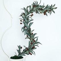 end Faux Olivee Branch Garlandd Artificial Greenery Garland with Olivess... - $43.56