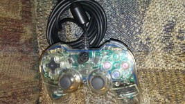 CLEAR Dual-Shock Controller (Playstation 2) - $16.00