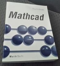 MathCAD Math CAD 6.0 Plus 6.0 User Manual Guide Only No Disks - $12.16