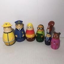 Playhouse Disney Higglytown Heroes Bath Play Set Lot of 6 Figures Cake T... - ₹2,055.63 INR