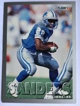 1993 Fleer #213 Barry Sanders Detroit Lions HOF NFL Football Card - $0.99