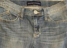 Rock & Republic Brand ~ Denim Blue Jeans ~ Womens' Size 4 ~ Kendall - $23.76