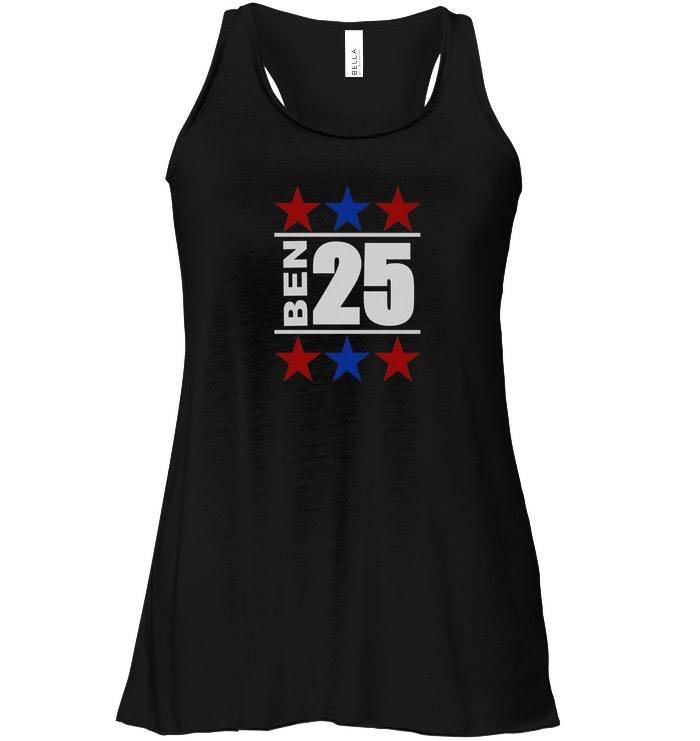 Funny Ben USA Flowy Racerback Tank 25