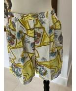 "Elaine Benedict Women's Print Comfortable Shorts Size 14 31"" Waist Stret... - $8.61"