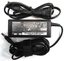 Genuine Toshiba Laptop Charger AC Adapter Power Supply PA3467U-1ACA SADP-65KB A - $14.99