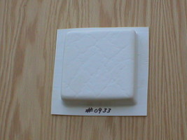 "Leather Texture Tile Molds 12- 4x4"" for Walls, Counter Make 100s for Pennies Ea. image 2"
