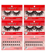 Kiss i Envy Collection 3D Extreme Volume Extra Long Cluster False Eyelas... - $3.95+