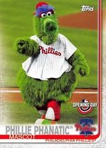 2019 Topps Opening Day Mascot #M21 Phillie Phanatic > Philadelphia Phillies - $0.99