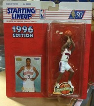 Allen Iverson 1996 Starting Lineup Extended Series NBA Basketball Sixers - £14.96 GBP