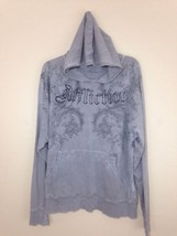 Mens Distressed Tattered  Affliction Hoodie with holes-Lt Weight Materia... - $4.95