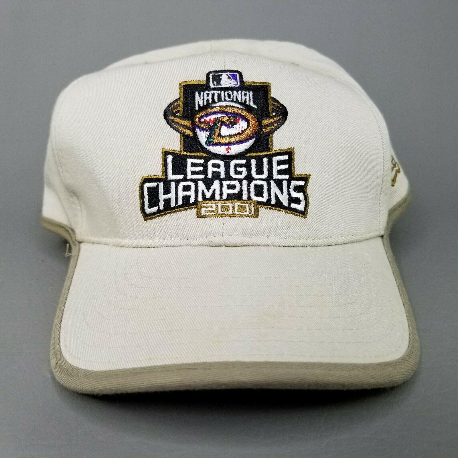 Arizona Diamondbacks New Era Baseball Hat 2001 League Champions World Series