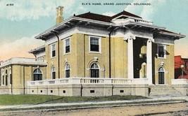 GRAND JUNCTION, CO Colorado    ELK'S HOME~Fraternal Order     c1910's Po... - $4.94