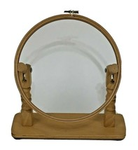 """Vintage Needlepoint/Embroidery Hoop Wooden Table Top Stand Adjusts 10"""" - $33.88"""