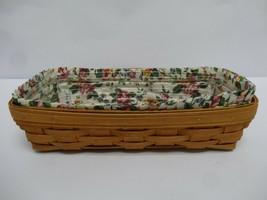 Longaberger 1994 Medium Rectangular Basket - $25.99