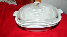 Corning Ware Rare Winter Frost White P-17-B Casserole Dish + Lid Free Usa Ship - $46.74
