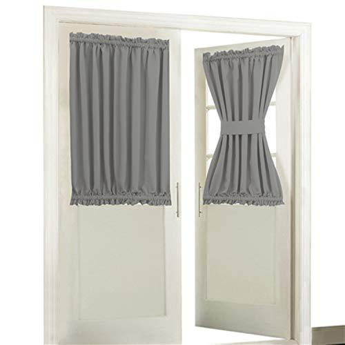Aquazolax Blackout Rod Pockets Door/Window Curtain Back