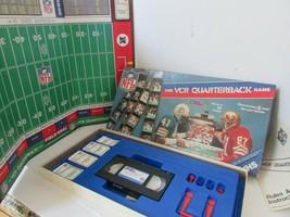 Vtg 1986 The VCR NFL Quarterback Jeu VHS Ruban Interactif VCR Jeux Inc - $5.45