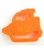 Ecko Housewares SHIP Orange Plastic Cookie Cutter 1994 00800-3 - $6.85