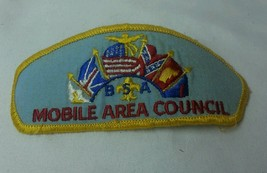 Boy scouts of America Mobile Area Council Patch 1980s Southern Alabama Rare - $49.31